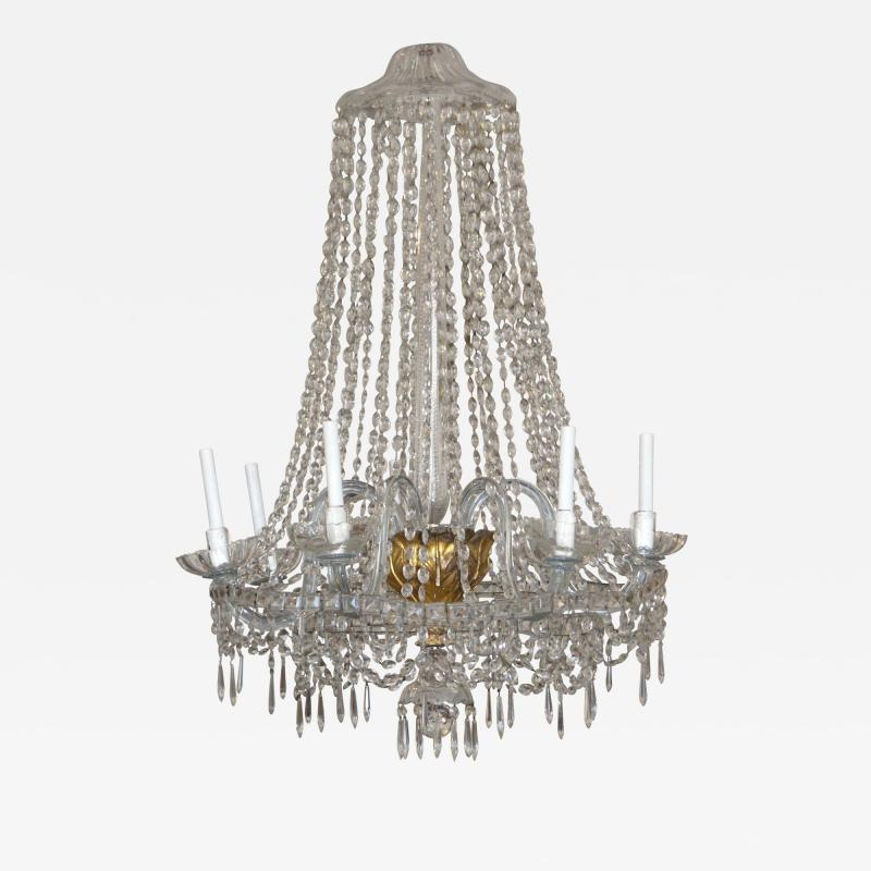Italian Neoclassical Chandelier 19th Century