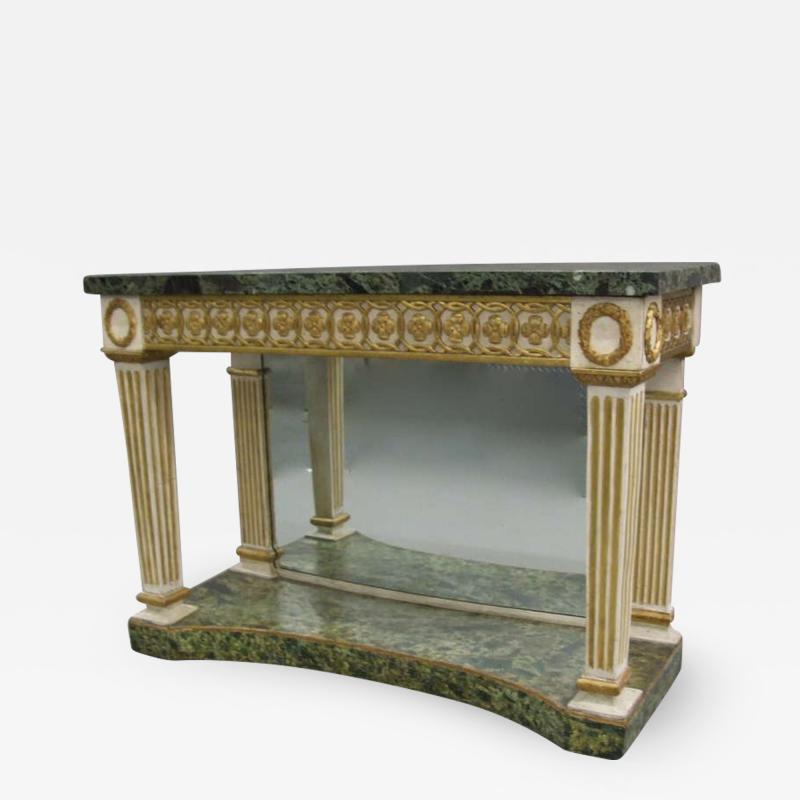 Italian Neoclassical Console Table