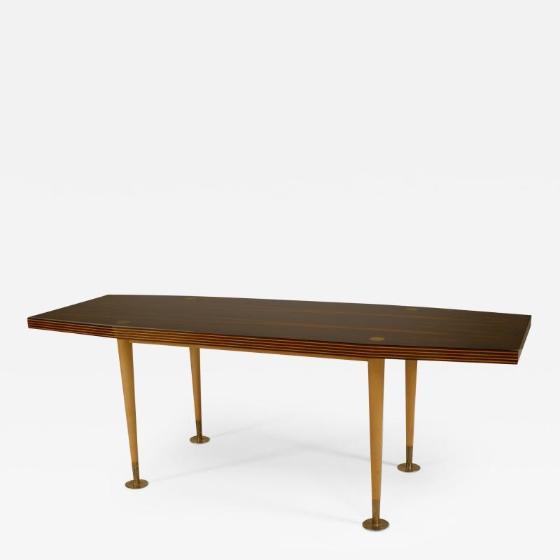 Italian Post War Design 1950 60s Palisander Top Coffee Table