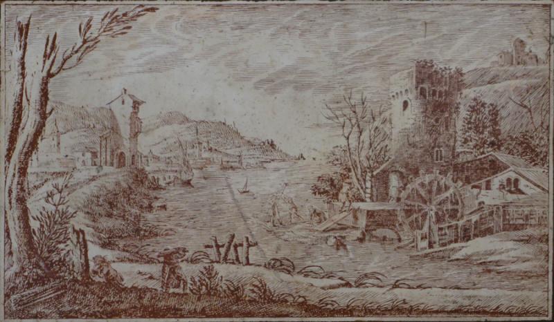 Italian Scagliola Panel