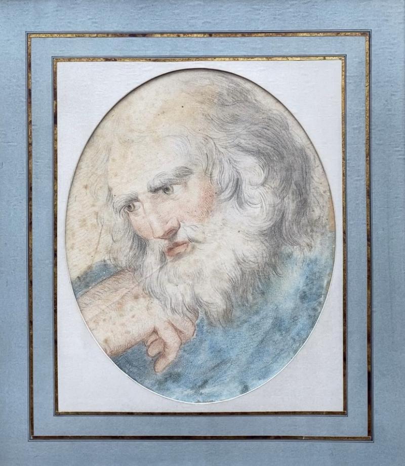 Italian School Portrait of a Head