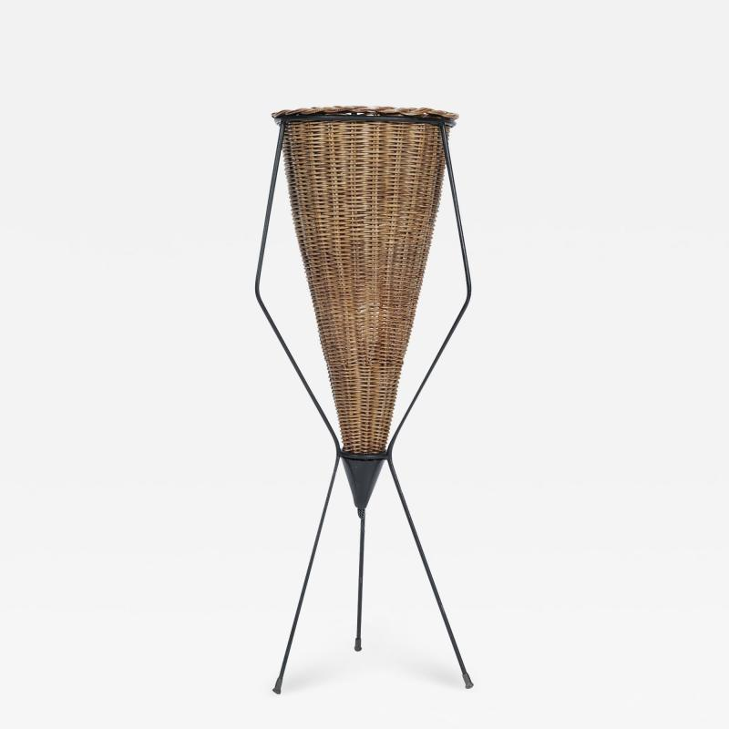 Italian basket lamp 50s