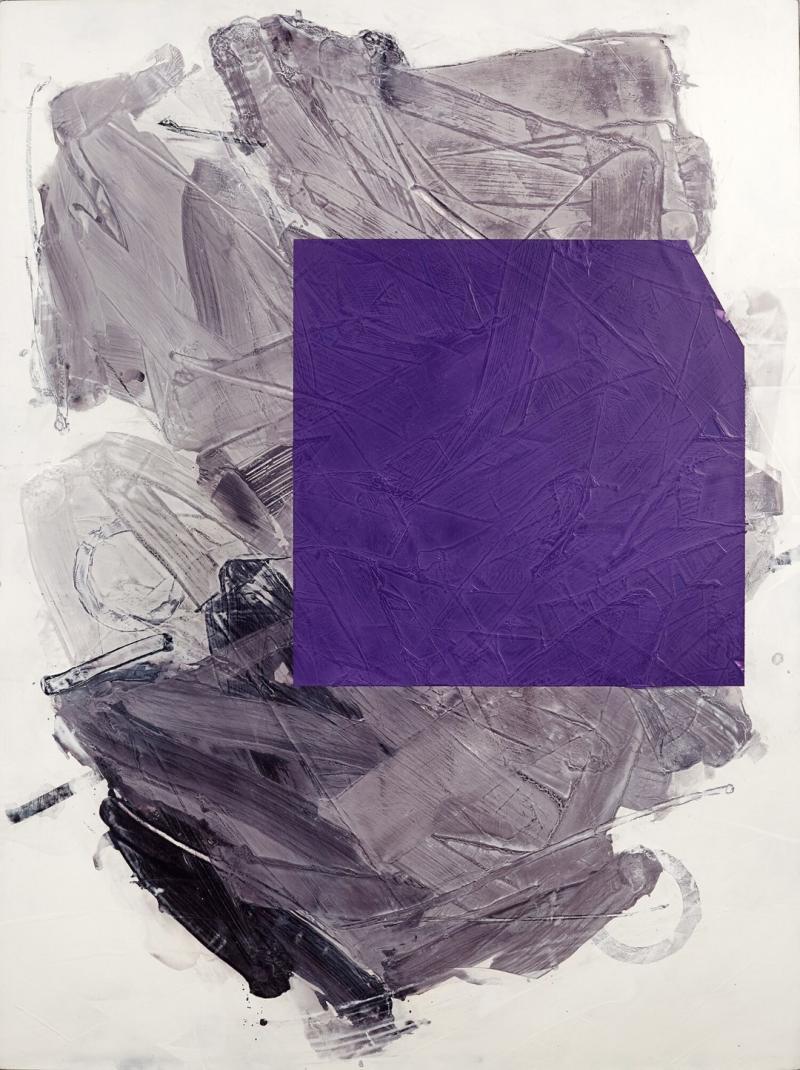 Ivo Stoyanov Purple No III