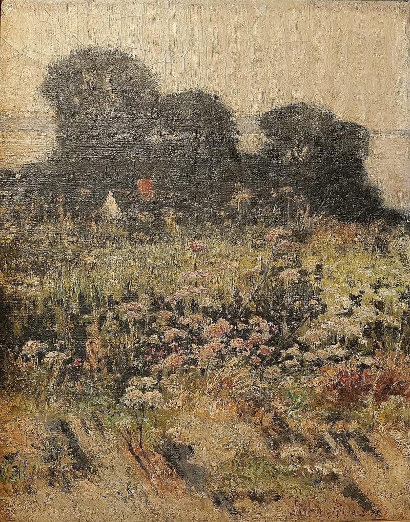 J Ambrose Pritchard Untitled Landscape likely Massachusetts shore