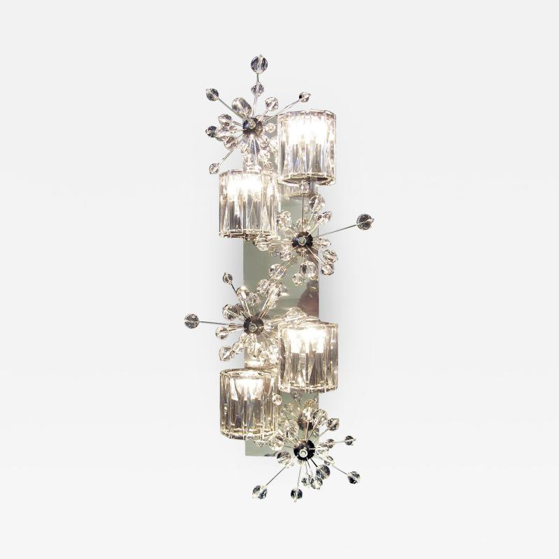 J L Lobmeyr Donhauser Wall Sconce by Page Donhauser