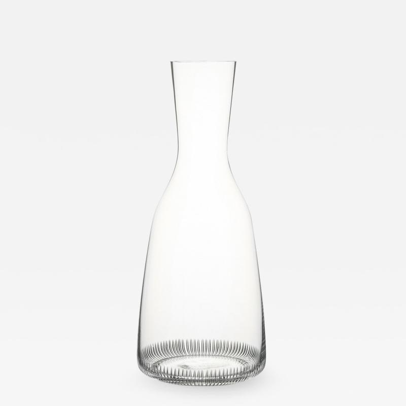 J L Lobmeyr Grip Drinking Set No 281 Wine Decanter by Marco Dess