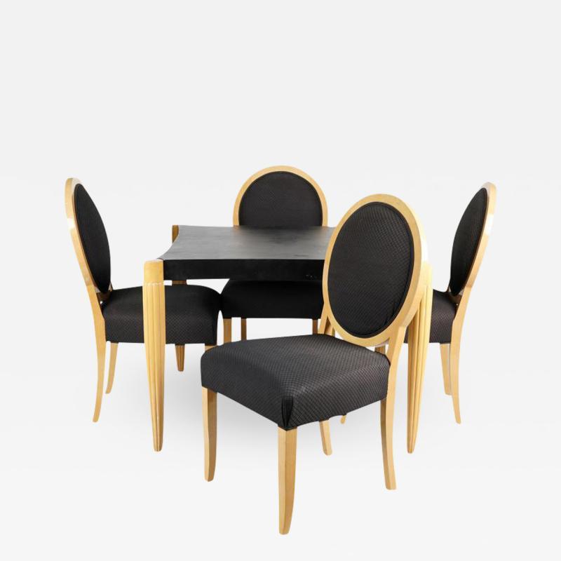 J Robert Scott Art Deco Style J Robert Scott Dining Table 4 Chairs