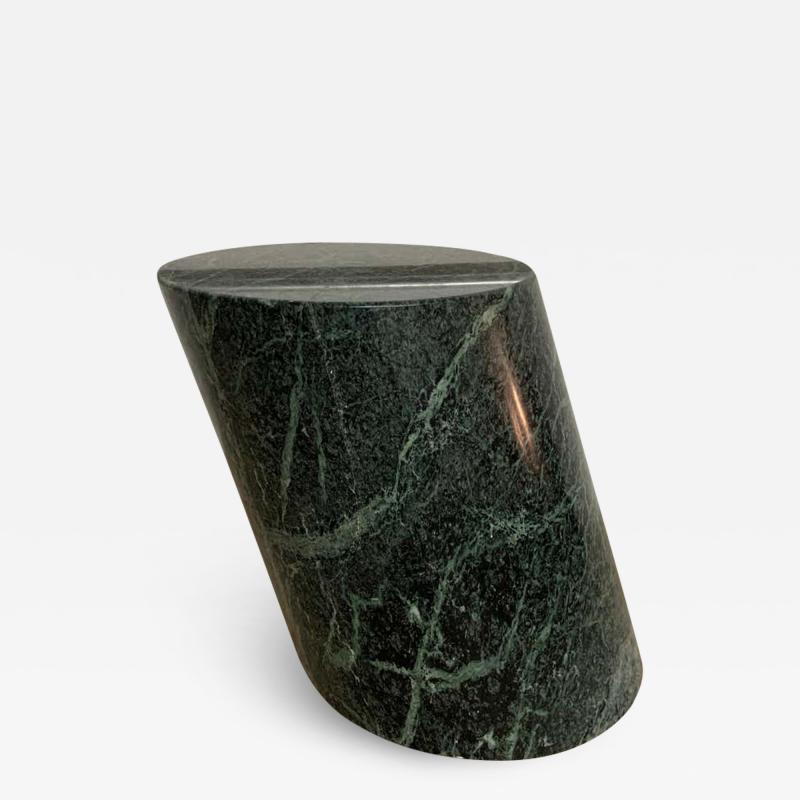 J Wade Beam J Wade Beam Green Marble Zephyr Side or End Occasional Drinks Table for Brueton