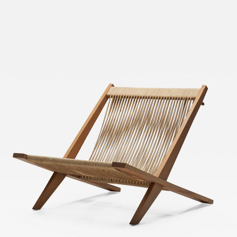 J rgen H j Easy Chair by J rgen H j and Poul Kj rholm Denmark 1952