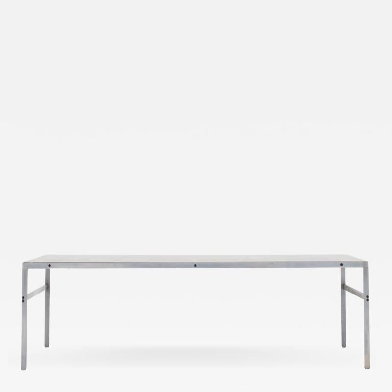 J rgen Kastholm Preben Fabricius Coffee table with black marble