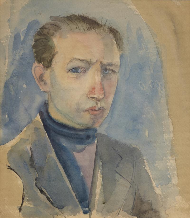 Jack Tworkov Self Portrait