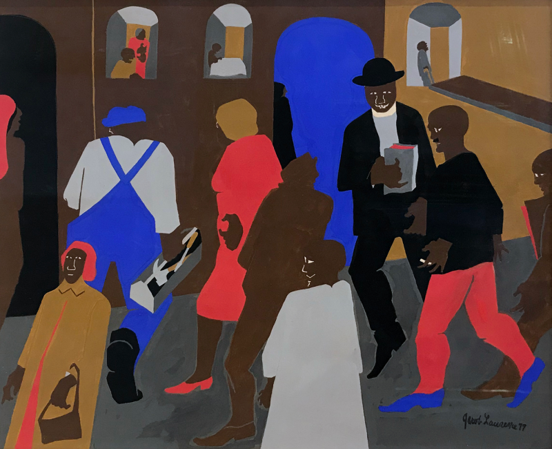 Jacob Lawrence Offered by JIMS OF LAMBERTVILLE