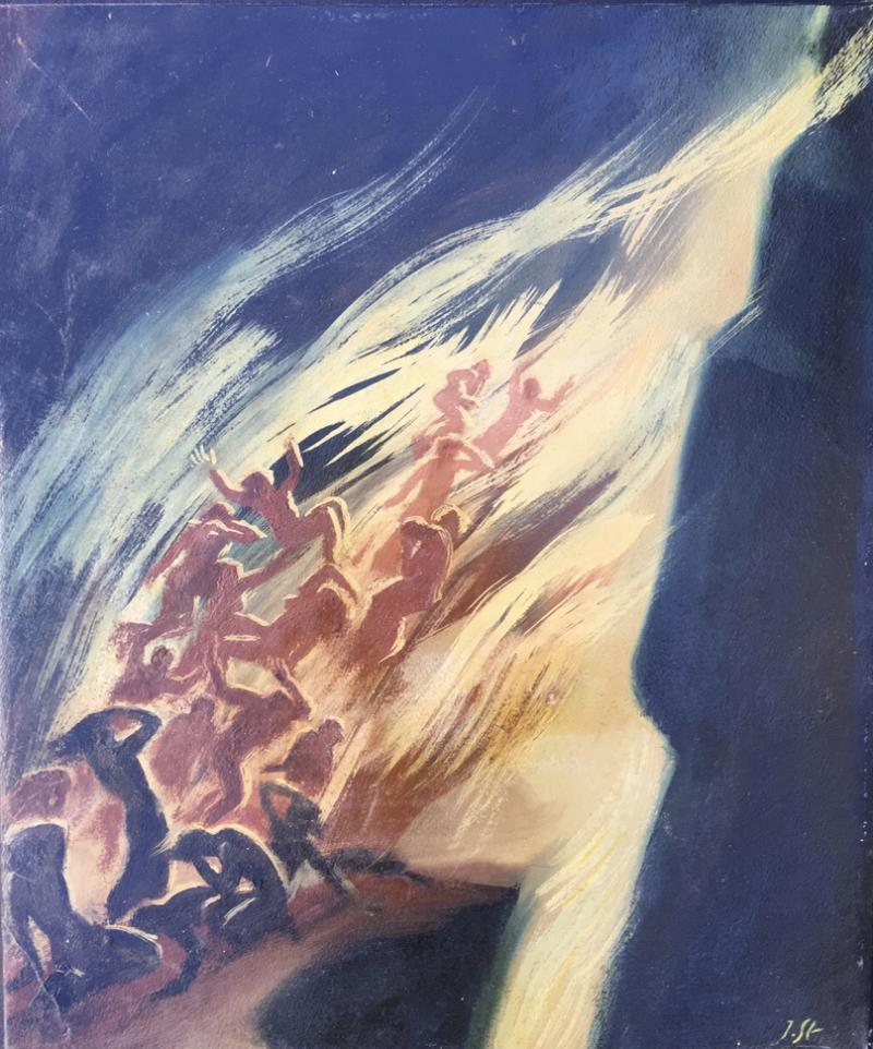 Jacob Steinhardt Biblical Scene