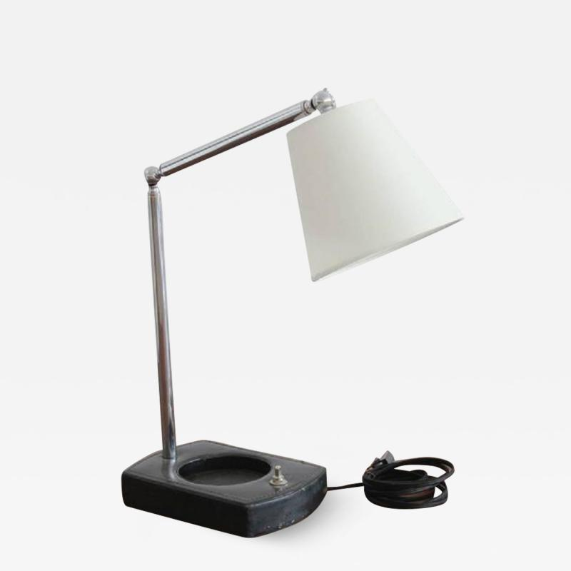Jacques Adnet DESK LAMP IN STYLE OF JACQUES ADNET
