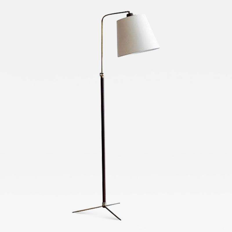Jacques Adnet FRENCH FLOOR LAMP IN THE STYLE OF JACQUES ADNET