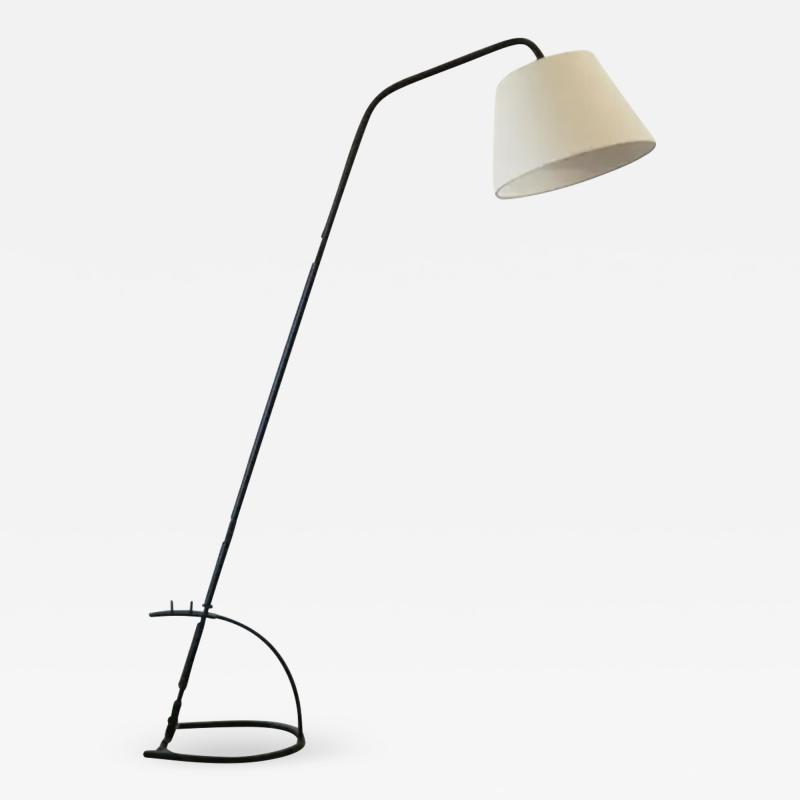 Jacques Adnet JACQUES ADNET ADJUSTABLE FLOOR LAMP