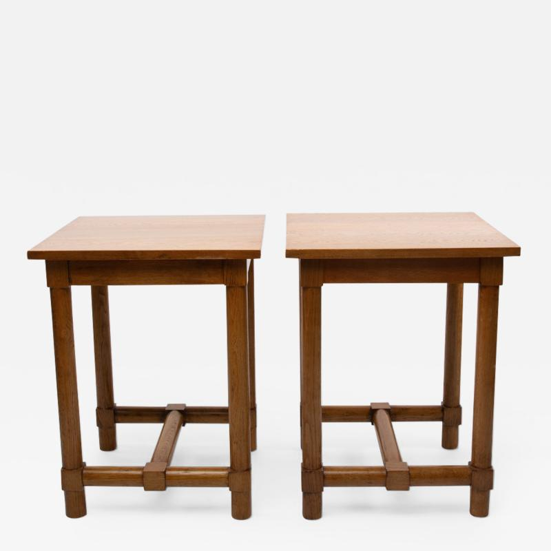 Jacques Adnet Jacques Adnet France a Pair of High End Tables