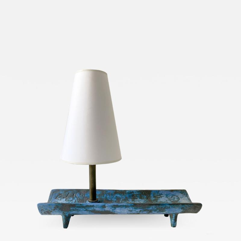 Jacques Blin JACQUES BLIN BLUE TRAY LAMP
