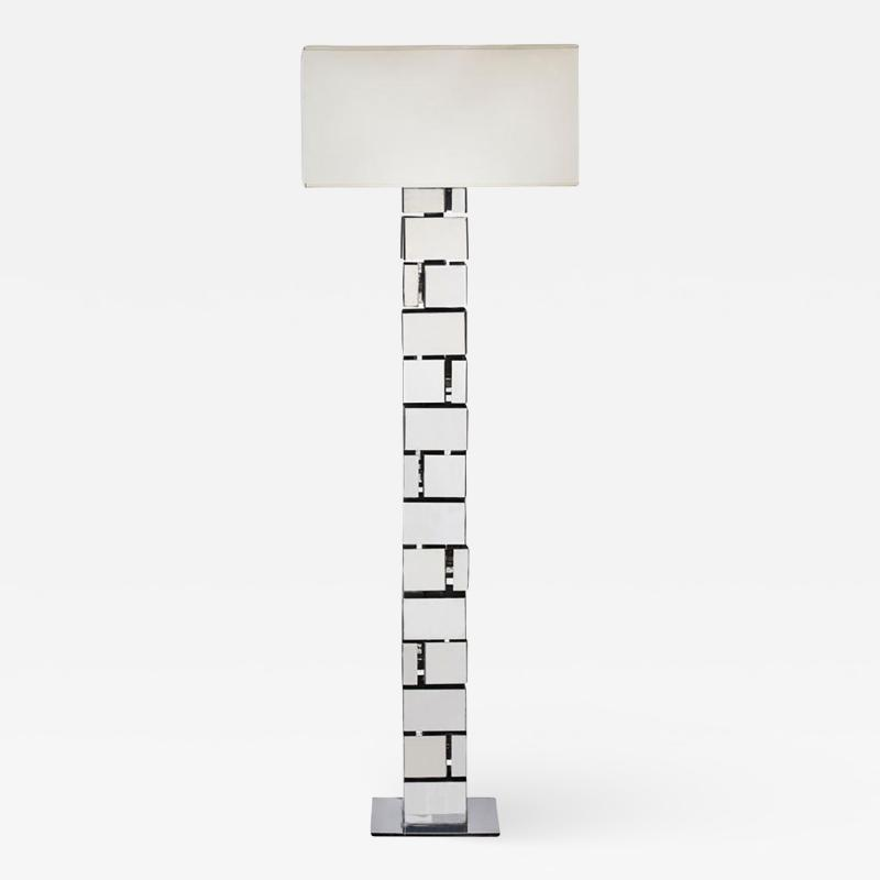 Jacques Charpentier Small Floor Lamp by Jacques Charpentier