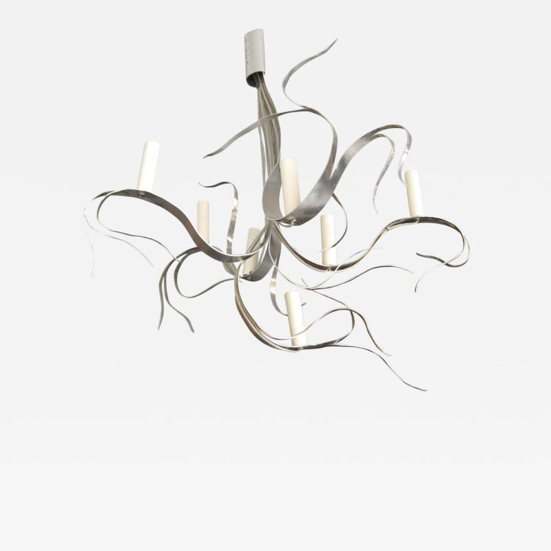 Jacques Jarrige Fiori 7 light chandelier by Jacques Jarrige