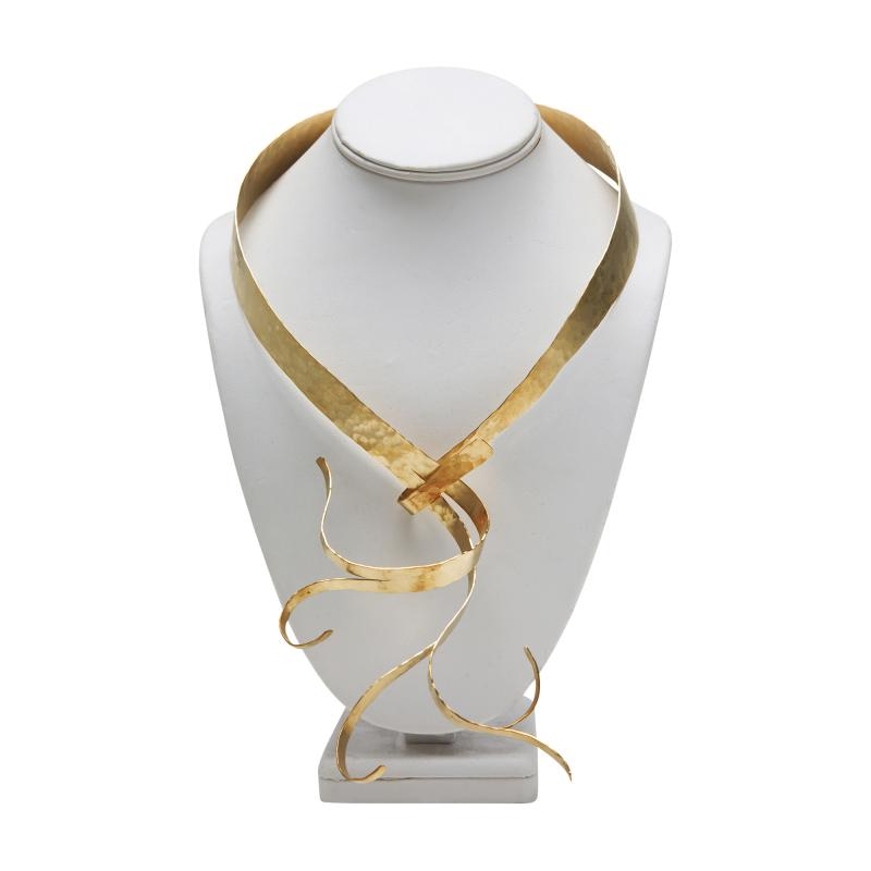 Jacques Jarrige Gold Necklace by Jacques Jarrige Flora