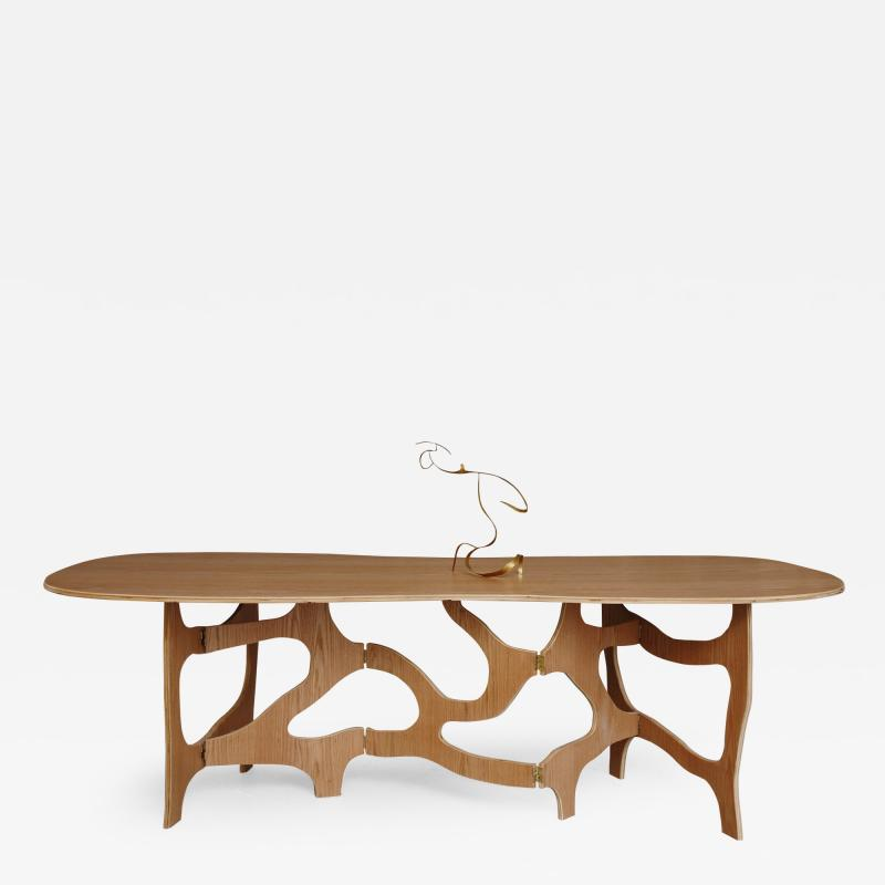 Jacques Jarrige Meanders Dining Table by Jacques Jarrige