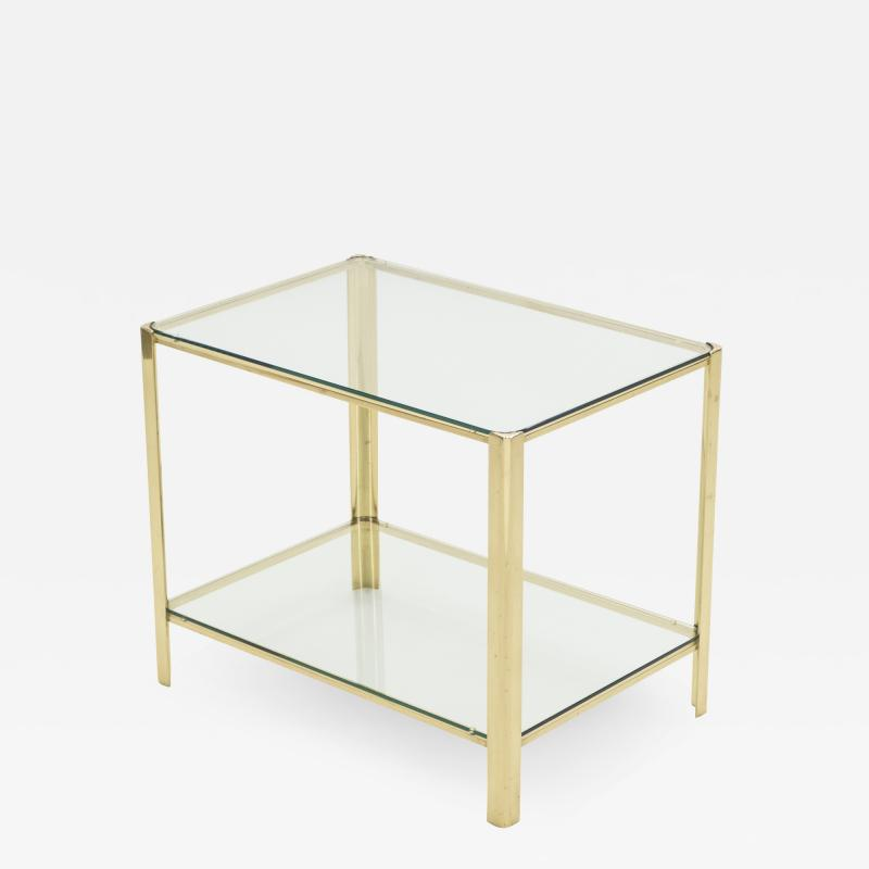 Jacques Quinet French Bronze occasional side table by Jacques Quinet for Broncz 1960s