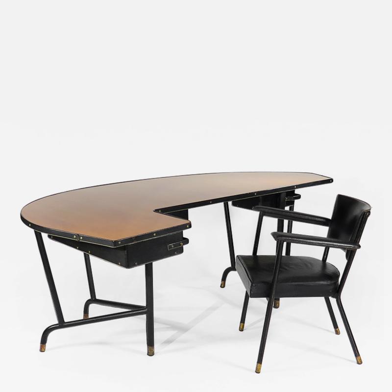 Jacques Quinet Rare Desk Chair by Jacques Quinet