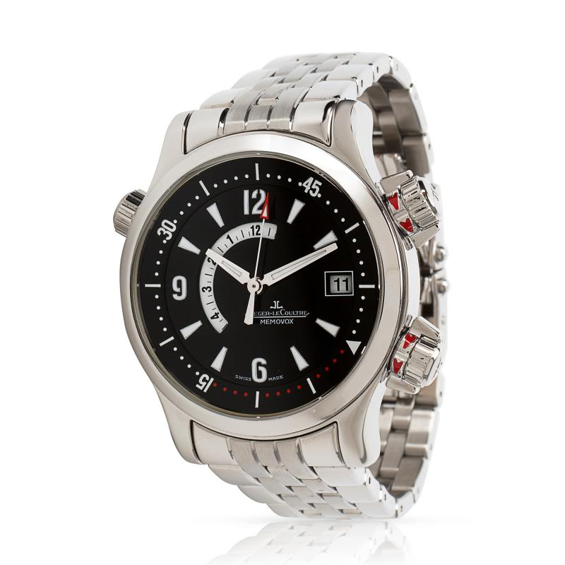 Jaeger LeCoultre Compressor Memovox 146 8 97 1 Men s Watch in Stainless Steel