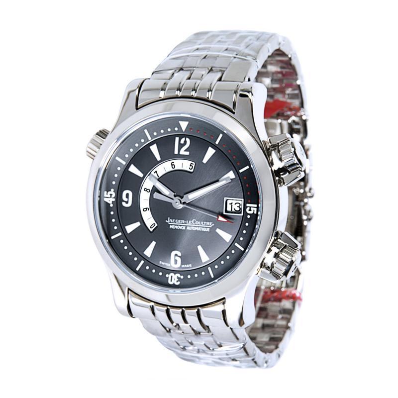 Jaeger LeCoultre Master Compressor Q170314 Men s Watch in 18K White Gold