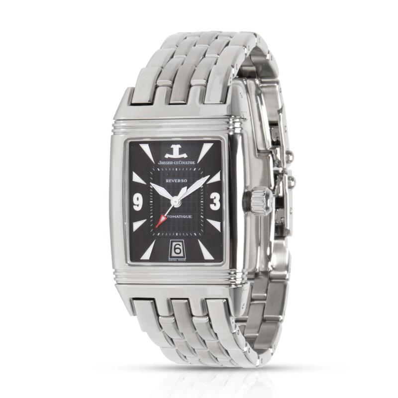 Jaeger LeCoultre Reverso Gran Sport 290 8 60 Men s Watch in Stainless Steel