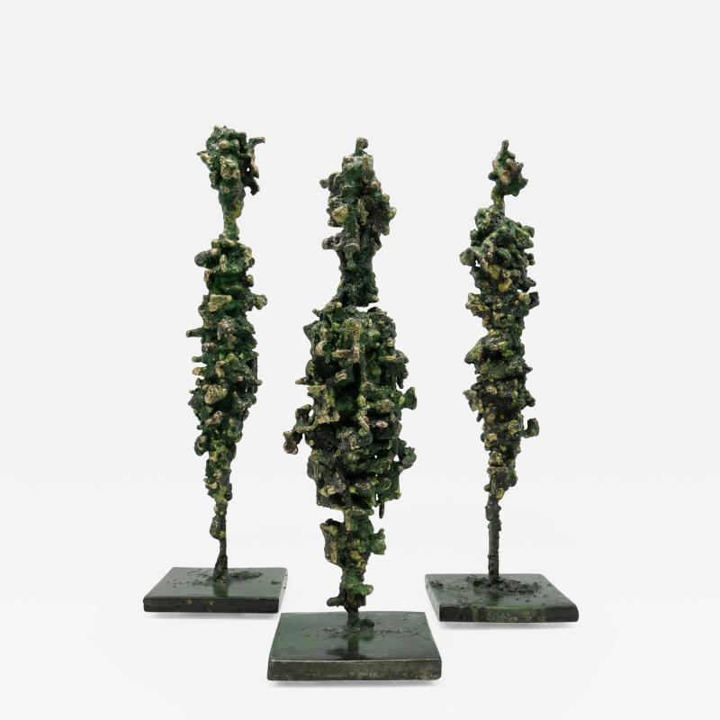 James Anthony Bearden James Bearden Set of Three Cathedral Series Figures