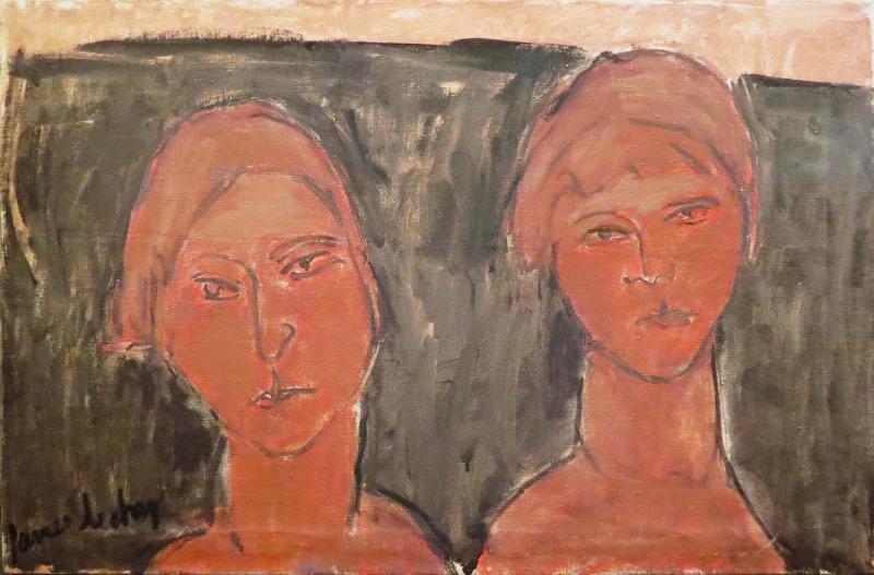 James Lechay Two Women