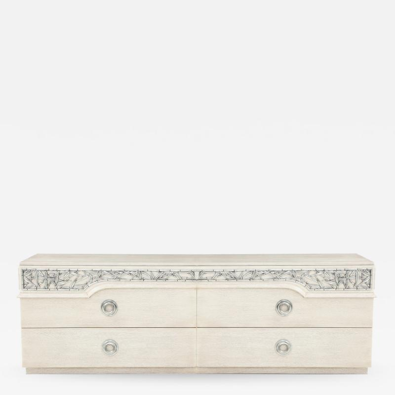 James Mont James Mont Bamboo Frieze Double Dresser