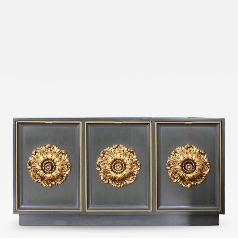James Mont James Mont Style Lacquered Credenza