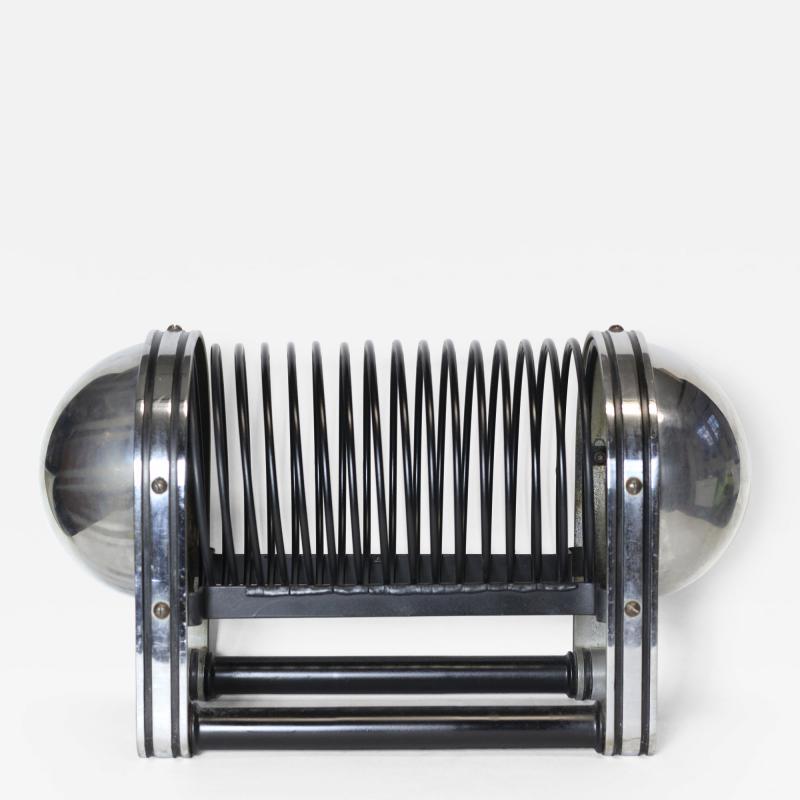 James Waring Carpenter Magazine rack made in 1933 by McKay Craft designed by James Waring Carpenter