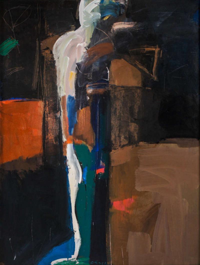 Jamie Chase Large Oil on Canvas Explorer II