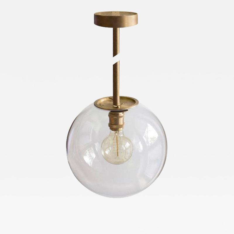 Jan Garncarek Emiter Brass Hanging Lamp Jan Garncarek