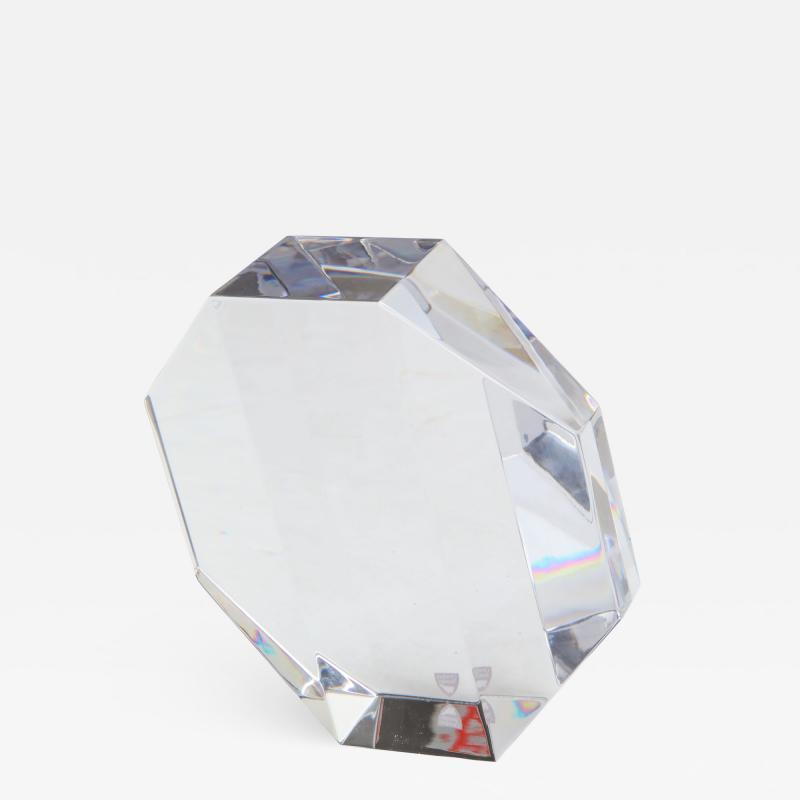 Jan Johansson Jan Johansson For Orrefords Modernist Glass Sculpture