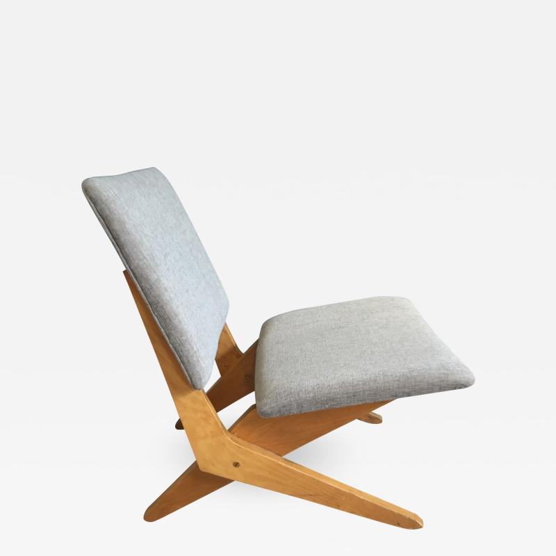 Jan van Grunsven Stunning FB18 Scissor Chair by Jan Van Grunsven for UMS Pastoe