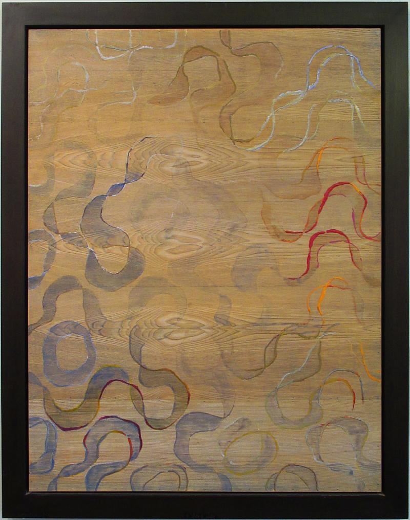 Jane Park Wells 4 Seasons Series Dye Acrylic and Oil on Variations of Wood Jane Park Wells