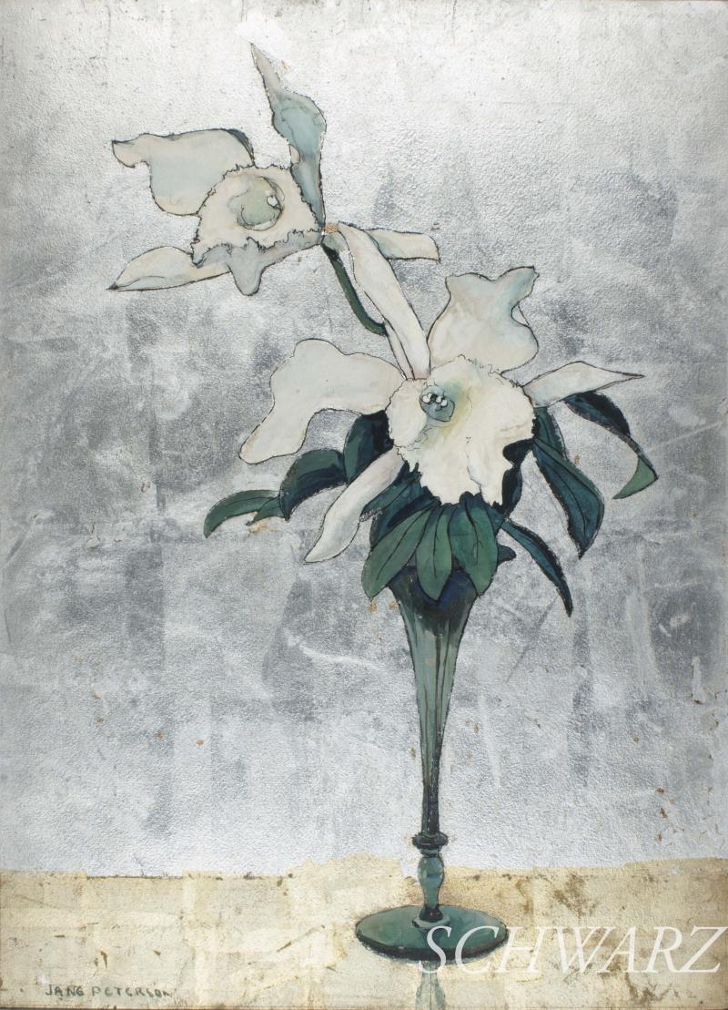 Jane Peterson White Orchids