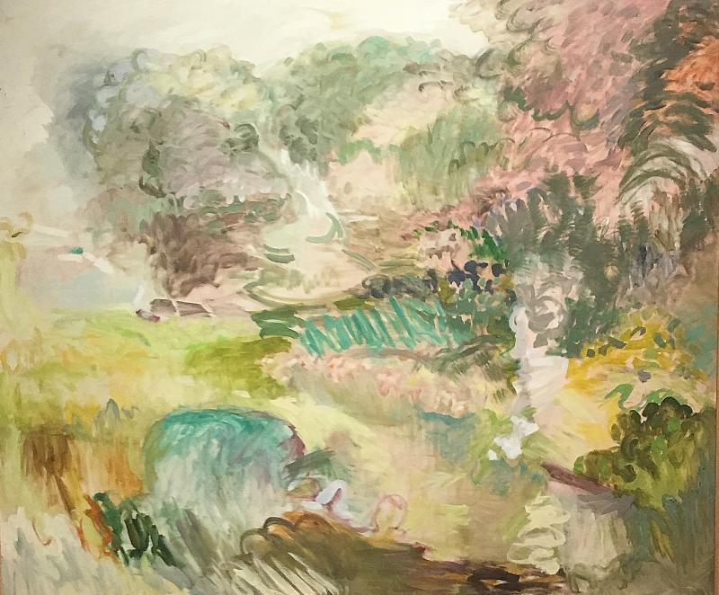 Jane Wilson Alices Garden
