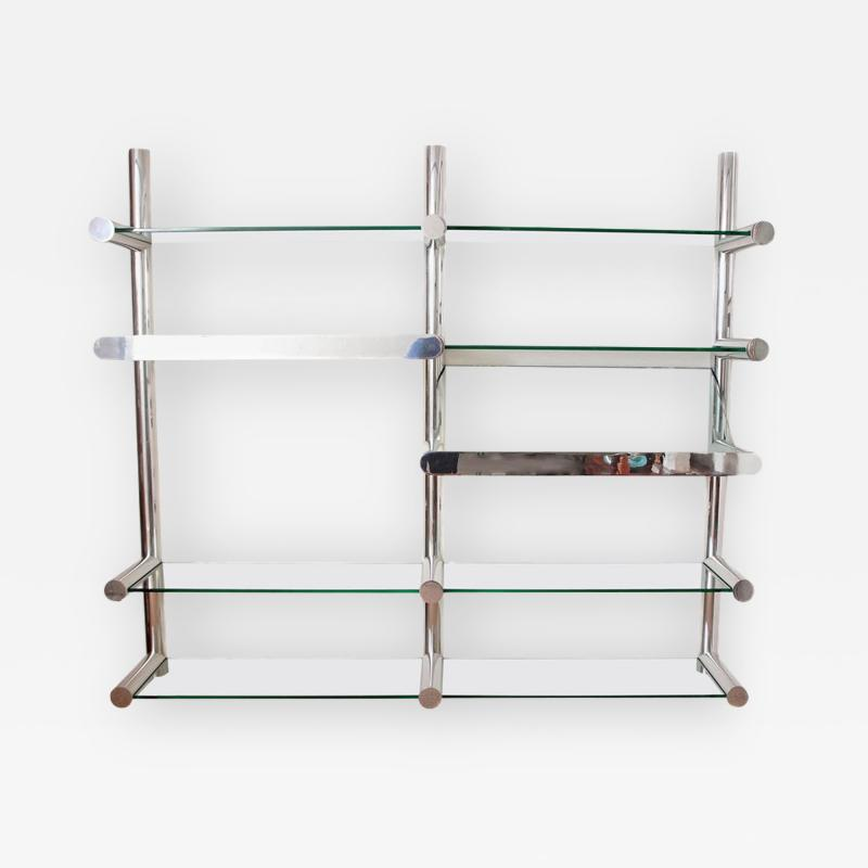 Janet Schwietzer Illuminated Orba Wall Unit by Janet Schwietzer for Pace Collection