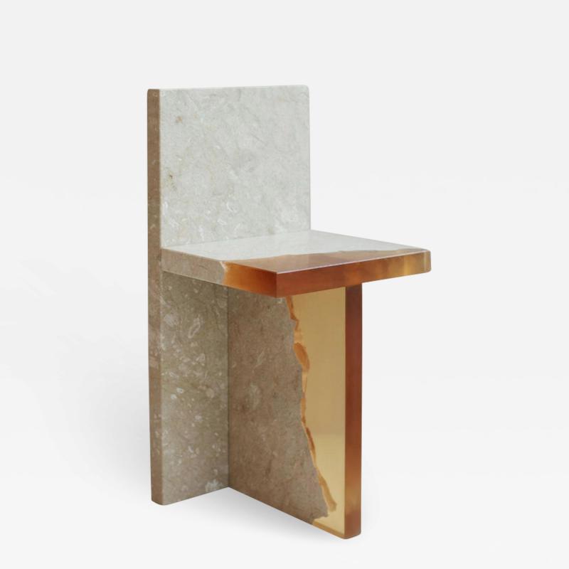 Jang Hea Kyoung Crystal Resin and Marble Fragment Chair Jang Hea Kyoung
