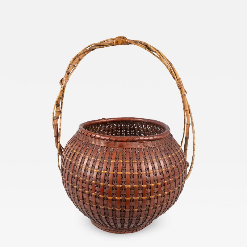 Japanese Ikebana Flower Arranging Basket