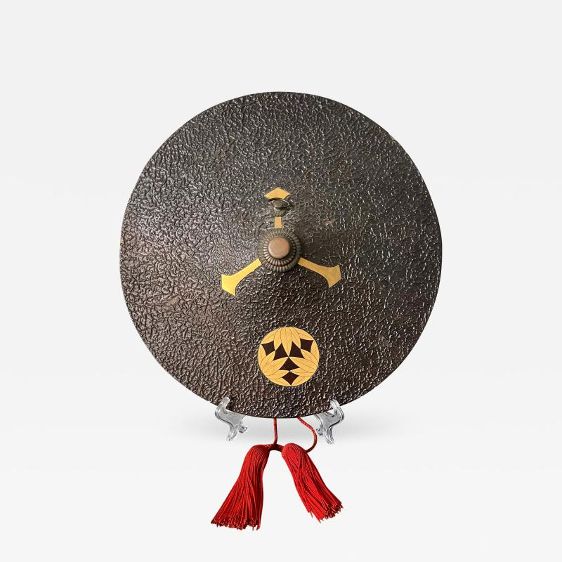 Japanese lacquered Samurai Jingasa Hat Edo Period