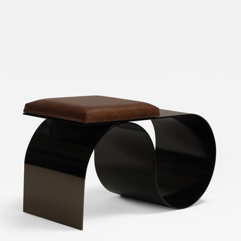 Jason Mizrahi Sia Stool Side Table
