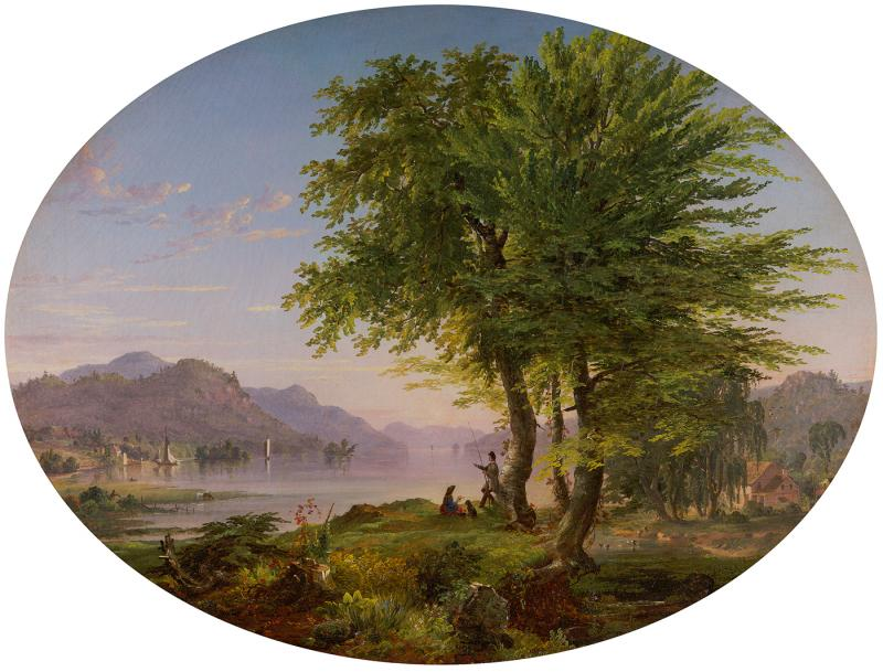 Jasper Francis Cropsey Early Landscape 1845