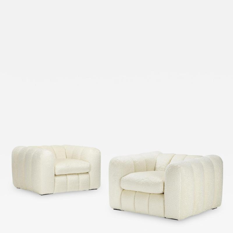 Jay Spectre Pair Jay Spectre Lounge Chairs